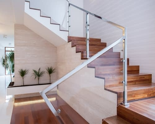 Wood Pro Joinery - Glass Balustrades Lancaster - Glass Balustrades on Stairs 3 (1)