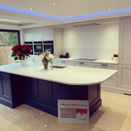 Bespoke Worktop installed by WoodPro Carpentry Solutions