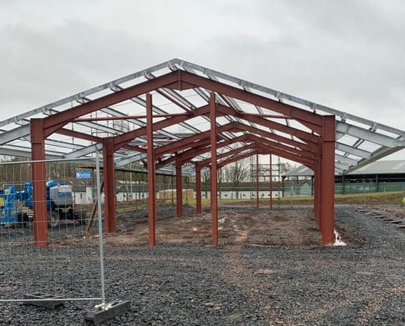 Gilchrist Steels - Services - Stuctural Steelwork 2