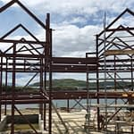 Gilchrist Steels has build the structural steelwork to a large commercial property